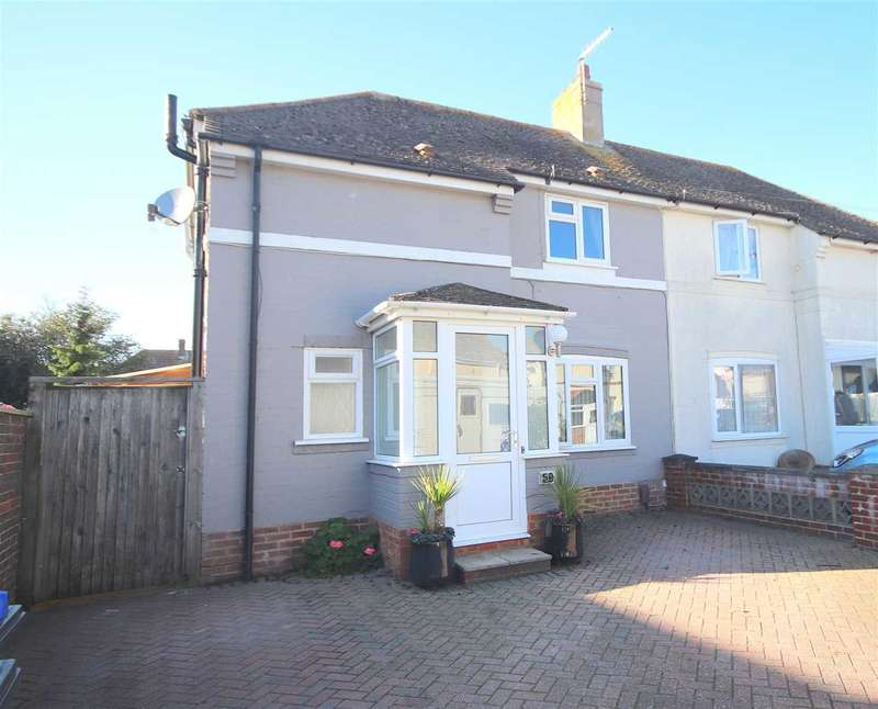 4 Bedrooms Semi Detached House for sale in Buci Crescent, Shoreham-by-Sea, BN43