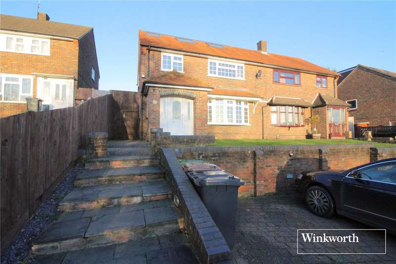 4 Bedrooms Semi Detached House for sale in Thirsk Road, Borehamwood, Hertfordshire, WD6