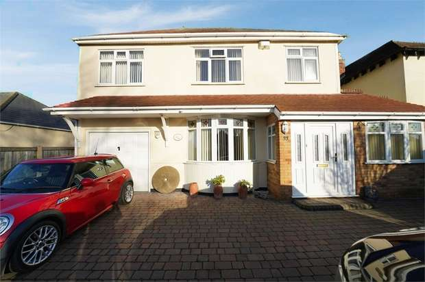 4 Bedrooms Detached House for sale in Bridge Cross Road, Burntwood, Staffordshire
