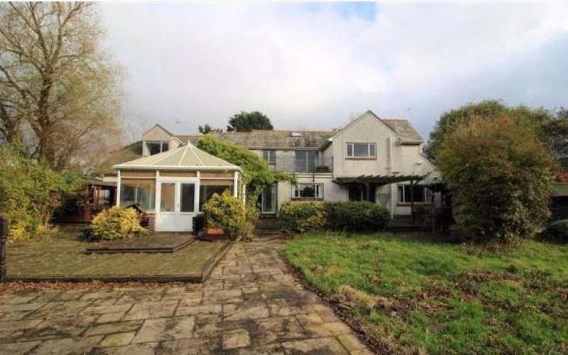 4 Bedrooms Detached House for sale in House, Outbuildings & Office Units Brentwood House, Midgeland Road, Blackpool, Lancashire