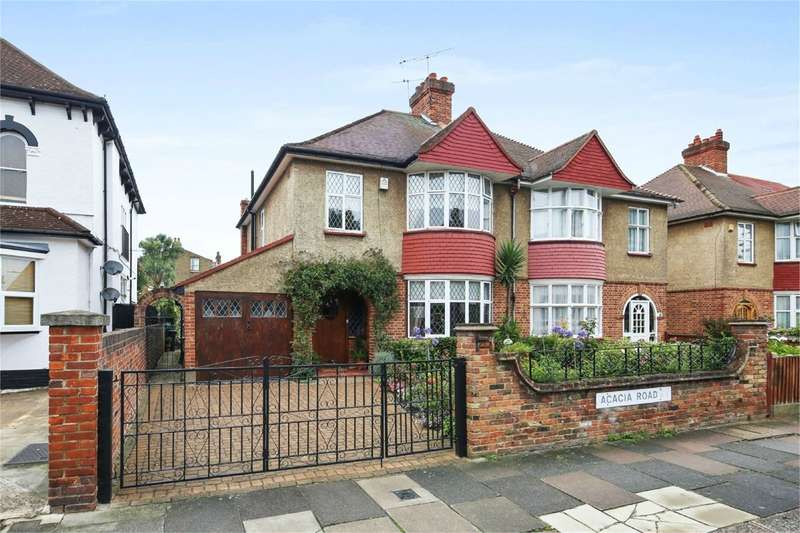 4 Bedrooms Semi Detached House for sale in Acacia Road, London, W3