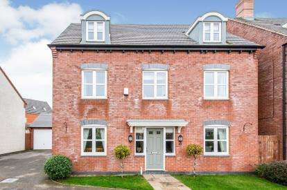 5 Bedrooms Detached House for sale in Usbourne Way, Ibstock, Leicestershire, Coalville
