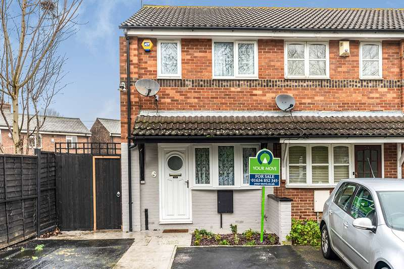 1 Bedroom End Of Terrace House for sale in Medway Road, Gillingham, Kent, ME7