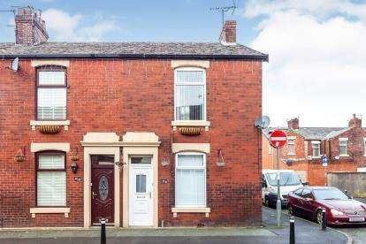 2 Bedrooms End Of Terrace House for sale in Nuttall Street, Blackburn, Lancashire, ., BB2