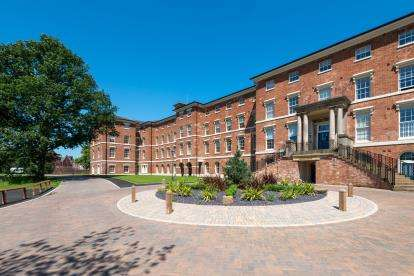 1 Bedroom Flat for sale in St. Georges Mansions, St. Georges Parkway, Stafford, Staffordshire