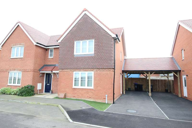3 Bedrooms Semi Detached House for sale in Cornfield Row, Deal, Kent, CT14