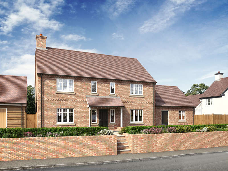 5 Bedrooms Detached House for sale in Jacks Lane, Marchington