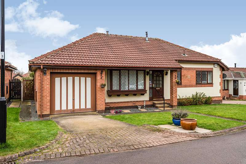 3 Bedrooms Detached Bungalow for sale in Glade Croft, Sheffield, South Yorkshire, S12