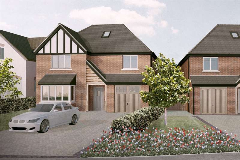 4 Bedrooms Detached House for sale in B1, Dumore Hay Lane, Fradley, Lichfield, WS13