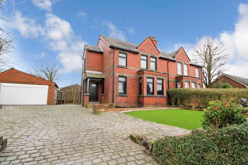 3 Bedrooms Semi Detached House for sale in Junction Road West, Bolton