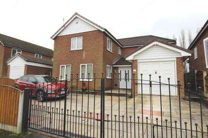 4 Bedrooms Detached House for sale in Patch Croft Road, Peel Hall, Manchester, Greater Manchester