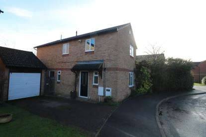 3 Bedrooms Detached House for sale in Heycock Close, Fleckney, Leicester, Leicestershire
