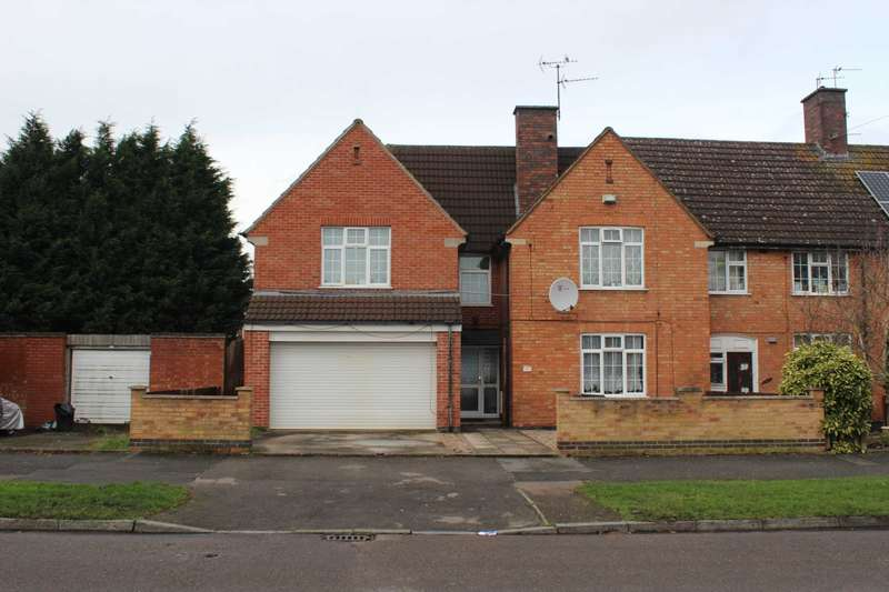 4 Bedrooms Semi Detached House for sale in Braunstone Avenue, Leicester