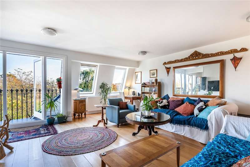 2 Bedrooms Penthouse Flat for sale in Clapham Common West Side, London, SW4