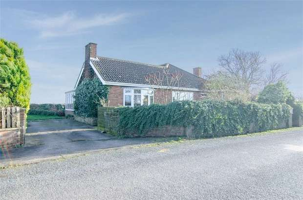 3 Bedrooms Detached Bungalow for sale in Lymn Bank, Thorpe St Peter, Skegness, Lincolnshire