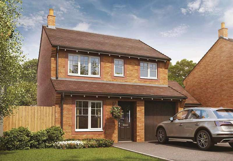 3 Bedrooms Detached House for sale in Plot 38, The Aldenham, Meadowbrook, Durranhill, Carlisle, CA1