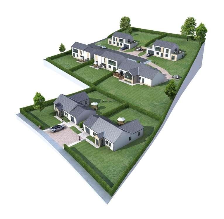 4 Bedrooms Detached House for sale in Gattonside, MELROSE, Scottish Borders