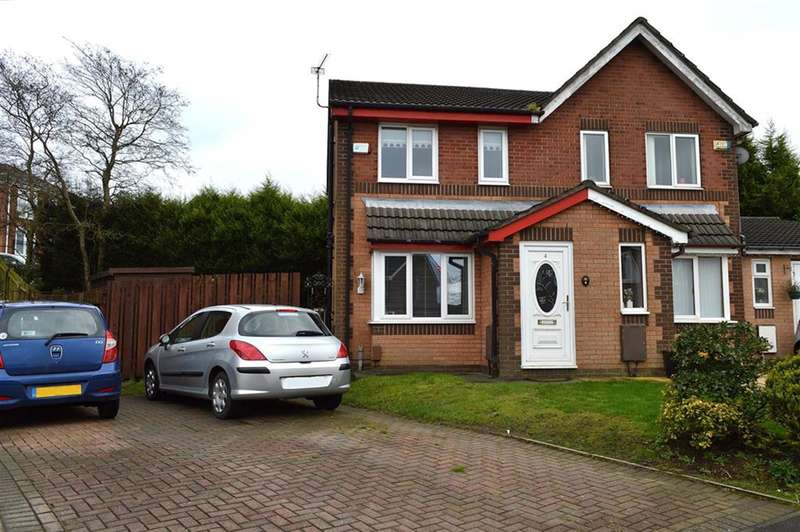2 Bedrooms Semi Detached House for sale in Putney Close, Oldham, OL1 2JS