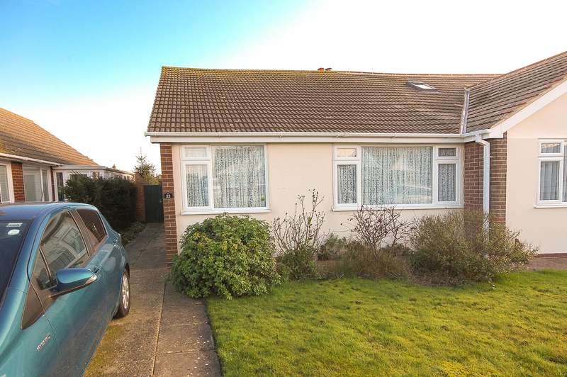 2 Bedrooms Semi Detached Bungalow for sale in Kite Farm, Whitstable