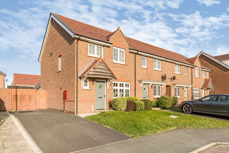 3 Bedrooms Semi Detached House for sale in Park Royal Court, Chorley, Lancashire, PR7