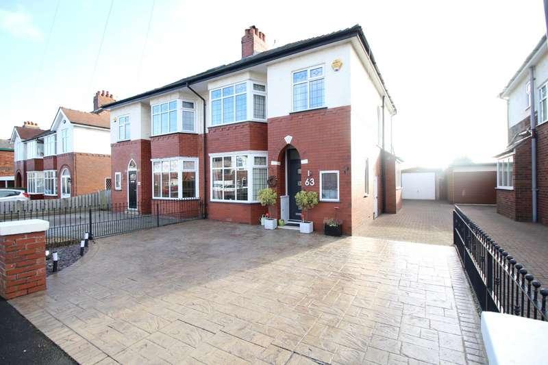 3 Bedrooms Semi Detached House for sale in Regent Drive, Fulwood, Preston, Lancashire, PR2