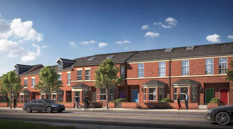 4 Bedrooms Terraced House for sale in Holyrood Terrace, Bury Old Road, Prestwich