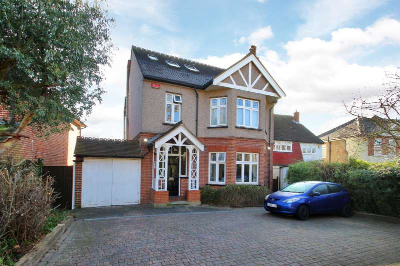 6 Bedrooms Detached House for sale in Knoll Road, Sidcup, Kent, DA14 4QU