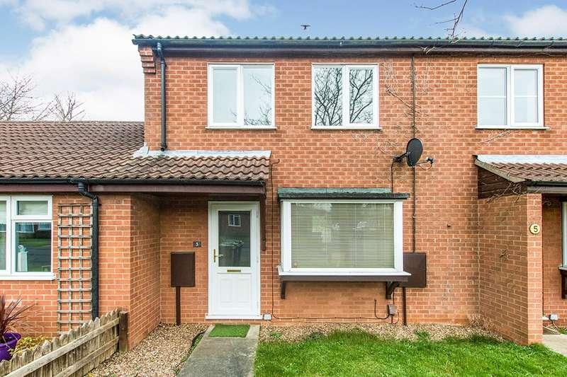 2 Bedrooms Semi Detached House for sale in Fernleigh Avenue, Bracebridge Heath, Lincoln, Lincolnshire, LN4