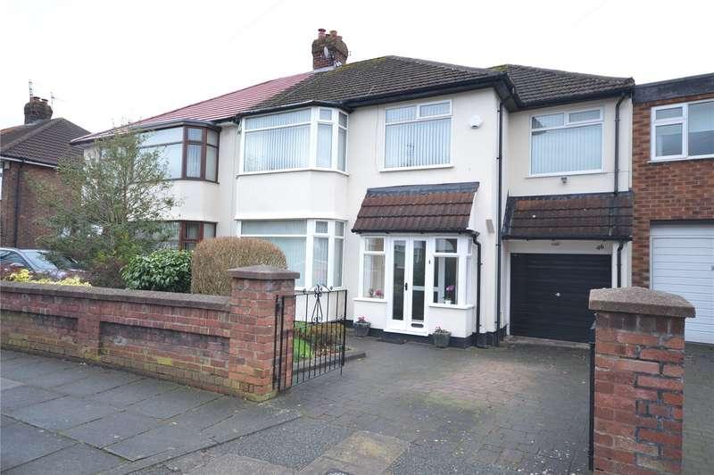 4 Bedrooms Semi Detached House for sale in Glendyke Road, Calderstones, Liverpool, L18