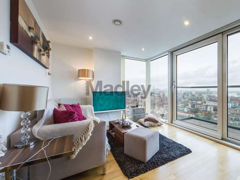 1 Bedroom Property for sale in Distillery Tower, Mill Lane, London