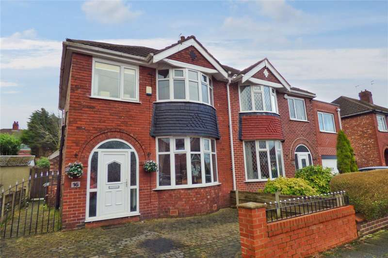 3 Bedrooms Semi Detached House for sale in Newton Road, Failsworth, Manchester, Greater Manchester, M35