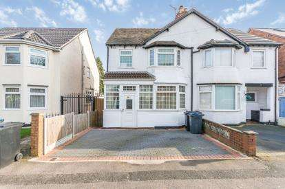 3 Bedrooms Semi Detached House for sale in Cateswell Road, Hall Green, Birmingham, West Midlands