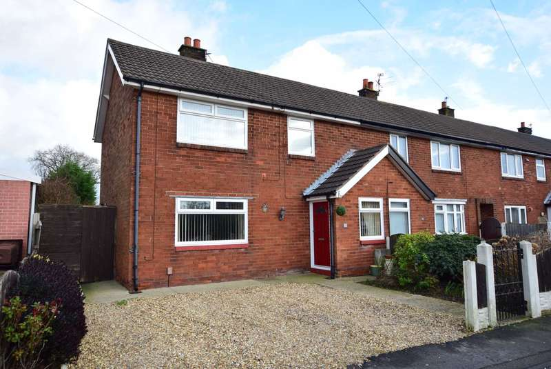 3 Bedrooms End Of Terrace House for sale in Clitheroes Lane, Freckleton, PR4 1SE