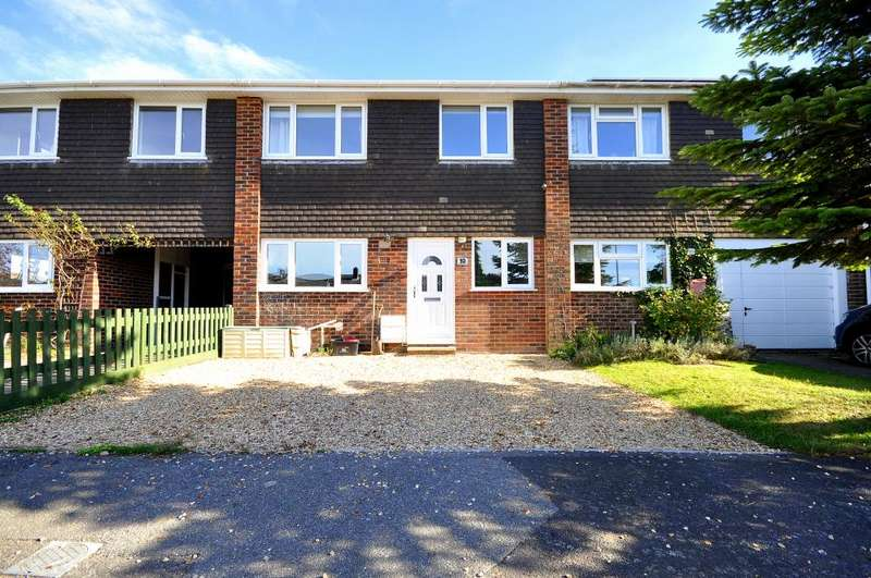 3 Bedrooms Terraced House for sale in Hightown Gardens, Ringwood, BH24 3EQ