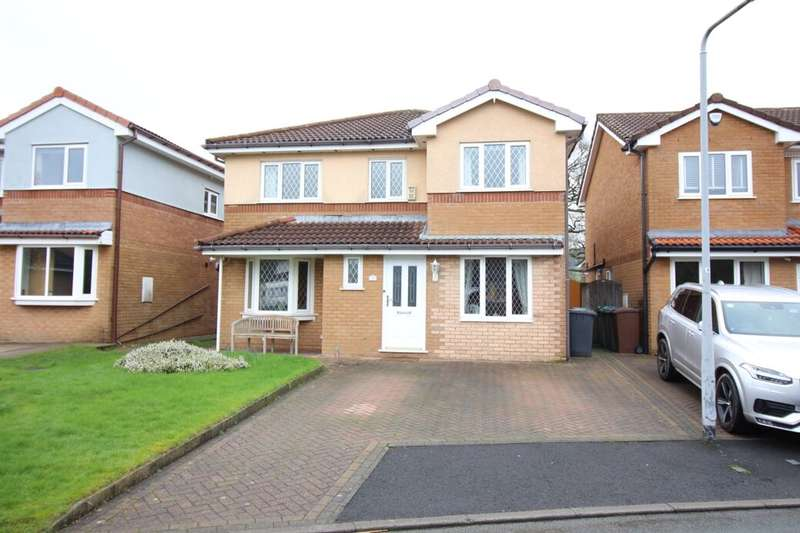 5 Bedrooms Detached House for sale in Strathmore Close, Ramsbottom, Bury, BL0