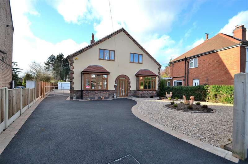 4 Bedrooms Detached House for sale in Wyvern Avenue, Long Eaton