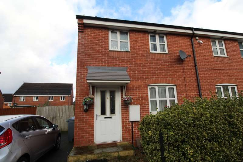 3 Bedrooms Semi Detached House for sale in Salwick Way, Manchester, Greater Manchester, M18