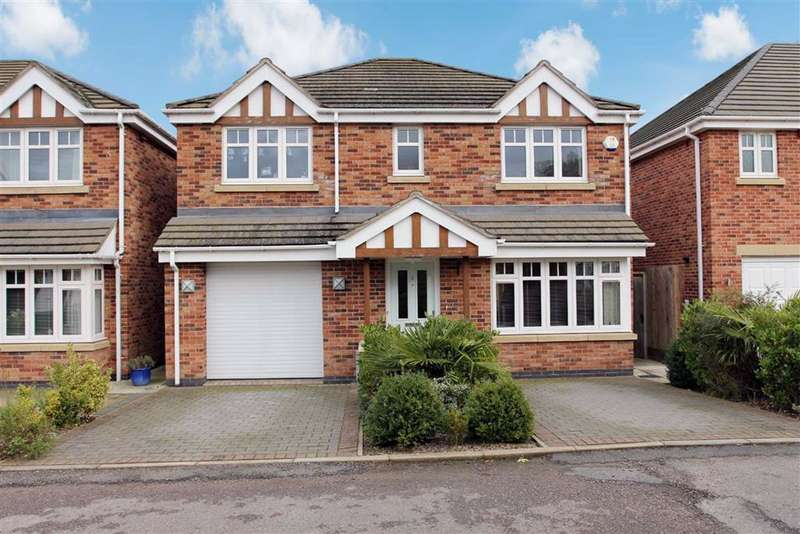 4 Bedrooms Detached House for sale in Martha Close, Countesthorpe, Leicestershire
