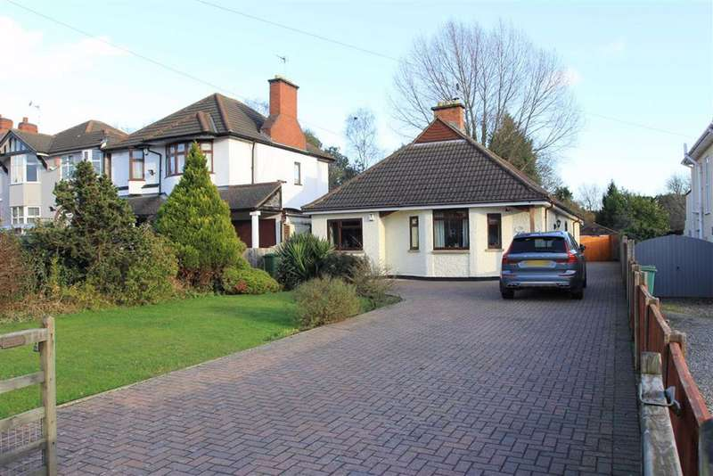 4 Bedrooms Detached Bungalow for sale in Leicester Road, Glen Parva, Leicester