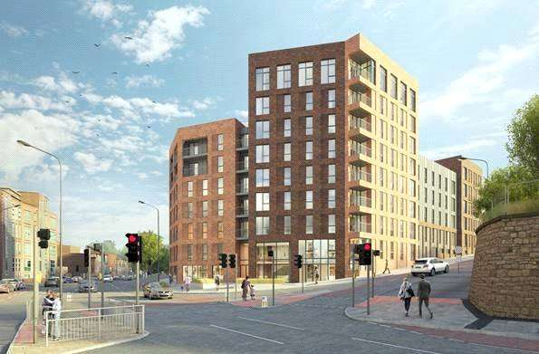 3 Bedrooms Apartment Flat for sale in GREAT CENTRAL, Kelham Island, Sheffield, South Yorkshire, S3