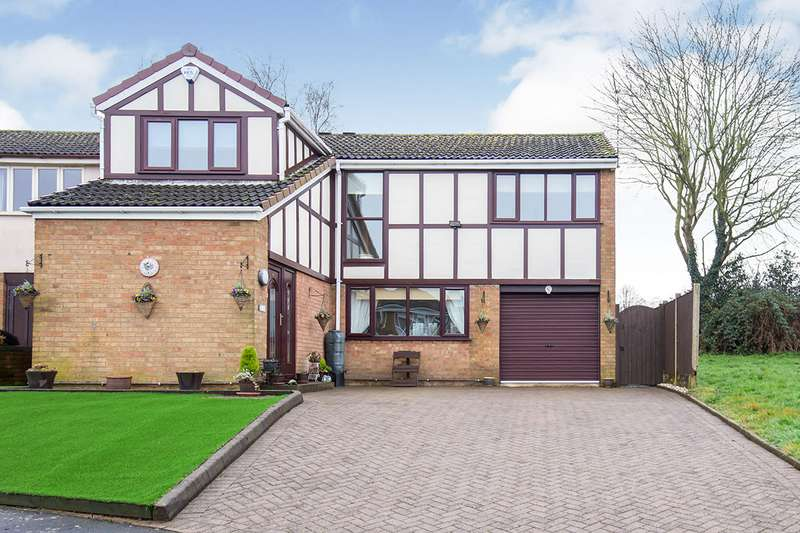 4 Bedrooms Detached House for sale in Norfolk Road, Desford, Leicester, Leicestershire, LE9