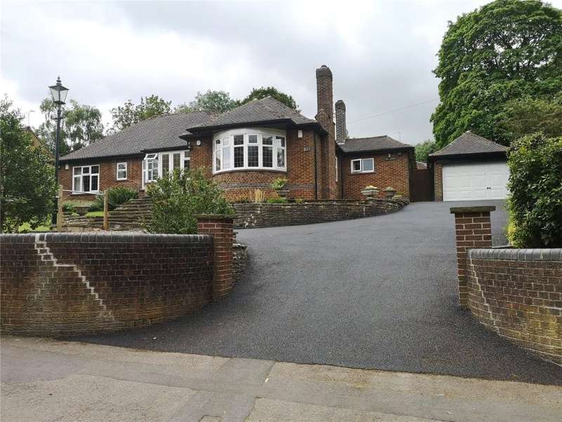 4 Bedrooms Detached Bungalow for sale in Hands Road, Heanor, Derbyshire, DE75