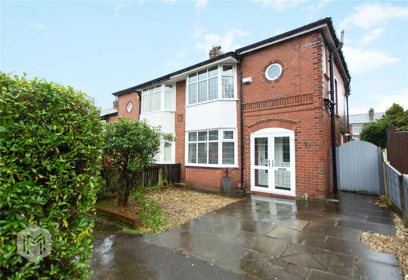 3 Bedrooms Semi Detached House for sale in Craig Avenue, Bury, Greater Manchester, BL8