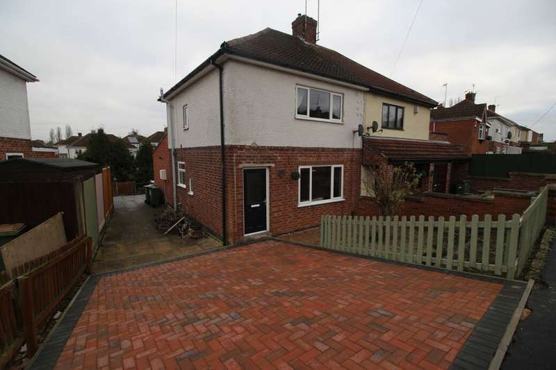 3 Bedrooms Semi Detached House for sale in Glenfield Crescent, Glenfield, Leicester, LE3