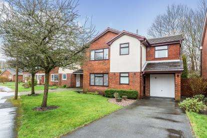 4 Bedrooms Detached House for sale in Greenacres, Fulwood, Preston, Lancashire, PR2