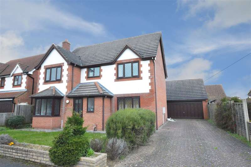 4 Bedrooms Detached House for sale in Lambourne Way, Heckington