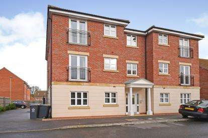 2 Bedrooms Flat for sale in Rearsby House, 50 Stillington Crescent, Leicester, Leicestershire