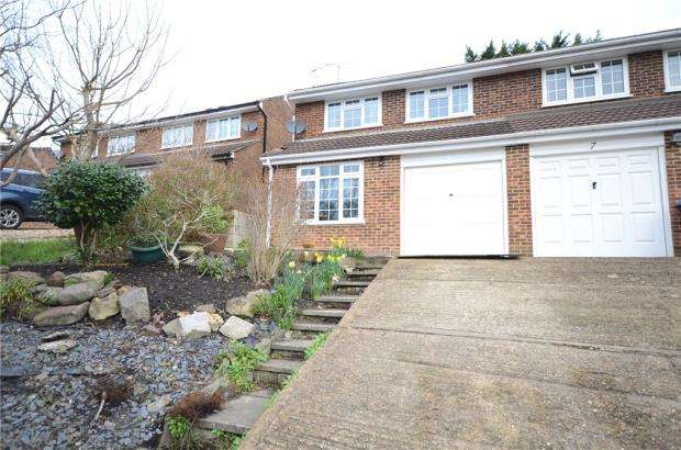 3 Bedrooms Semi Detached House for sale in Paul Close, Aldershot, Hampshire