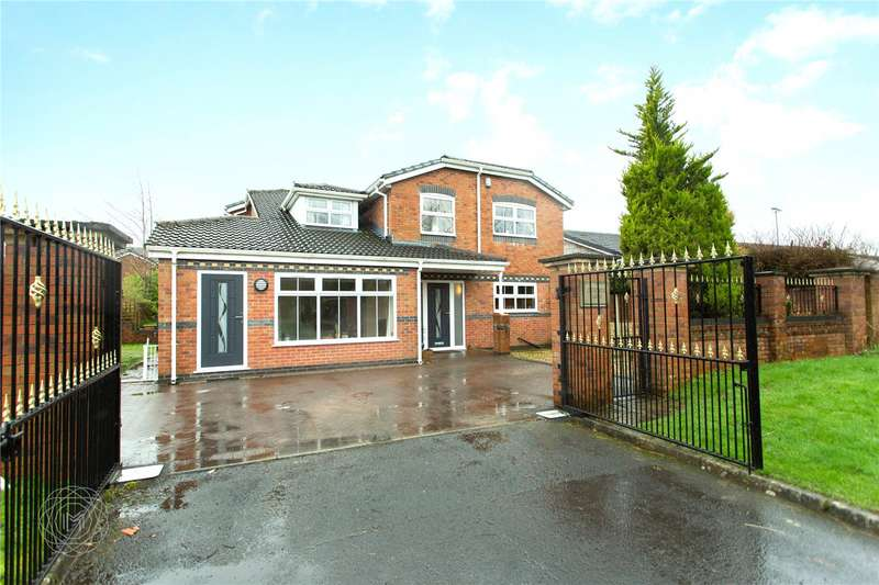 5 Bedrooms Detached House for sale in Norden Road, Rochdale, Lancashire, OL11