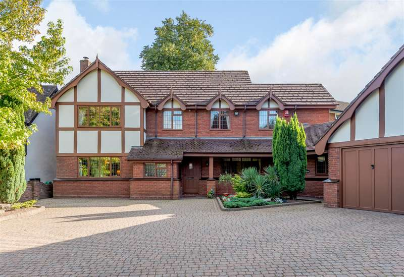 4 Bedrooms Detached House for sale in Oaklands Road, Sutton Coldfield, B74 2TB